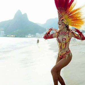 Sherylanne mcleod samba rio beach