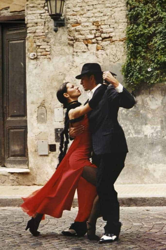 vintage outfit tango dancing