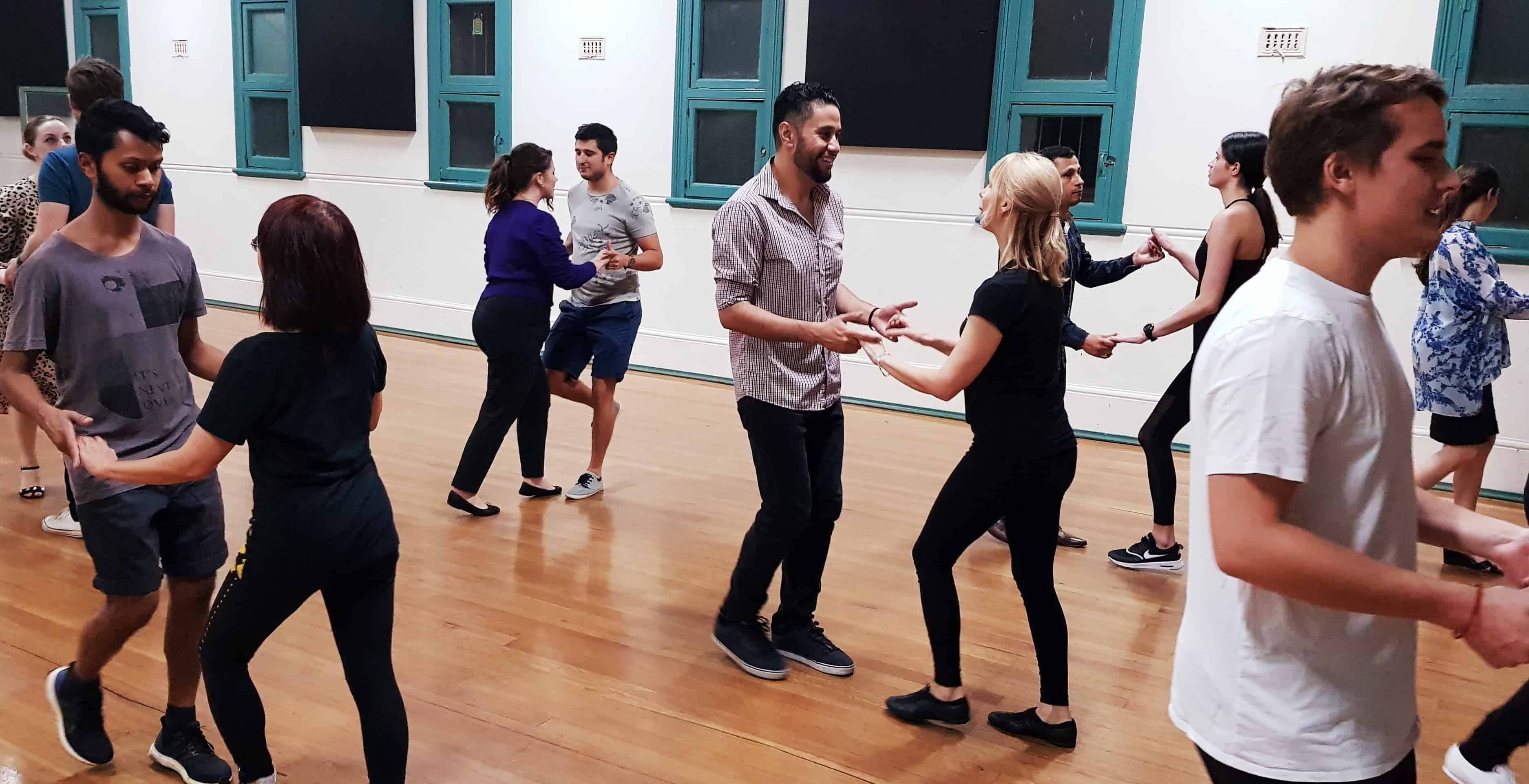 simone teaching salsa class
